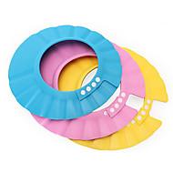 biztonságos állítható sampon baba zuhany sapka fürdő védelme puha sapka kalap gyereket