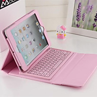 2016 Newest Solid Color Smart PU Leather Case with Bluetooth Keyboard  for Ipad Air