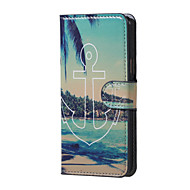 Na Samsung Galaxy Etui Etui Pokrowce Z podpórką Flip Futerał Kılıf Kotwica Sztuczna skóra na Samsung J5 (2016)