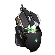 LUMO G10 Ergonomic + Aluminium Base LED Optical USB Wired Mouse Gamer Professional Gaming Mouse Mice