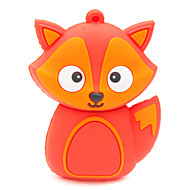 zpk37 16gb roter Fuchs Cartoon USB 2.0 Flash-Speicher-Laufwerk u-Stick