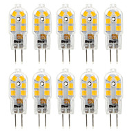 Ywxlight® 10pcs g4 2,5w 14 * 2835smd 250lm warm / cool wit t dc 10-12v / ac 220-240v