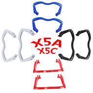 SYMA X5C / X5a SYMA Опорные стойки для приземления / Комплектующие Аксессуары RC Quadcopters / Дроны Красный / Черный / Белый / Синий
