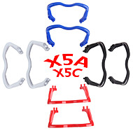 SYMA X5C / X5A SYMA سيقان الأرض / زينة أجزاء RC كوادكوبتر / طائرات بدون طيار أحمر / أسود / أبيض / أزرق