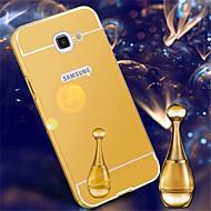 Mert Samsung Galaxy tok Galvanizálás / Tükör Case Hátlap Case Egyszínű Akril Samsung A7(2016) / A5(2016) / A3(2016) / A9