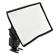 sidande photographie mini kit diffuseur de flash softbox portable 15x17cm canon nikon samsung dslr flash Speedlite