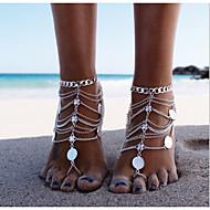 Dame Ankel/Armbånd Legering Unikt design Mode Flerlags Europæisk Personaliseret Bikini kostume smykker Smykker Smykker Til Daglig