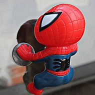 ZIQIAO 12cm Spider Doll Window Sucker decoration Toy Car ornament