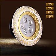 3W Oświetlenie downlight LED 3 LED zintegrowany 100 lm Ciepła biel / Zimna biel Dekoracyjna AC 220-240 V 1 sztuka