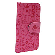 The Hardcover Design Pattern PU Leather Full Body Case for iPhone 5/5S