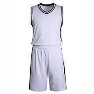 Hauts/Tops / Bas / Shirt ( Blanc / Noir ) - Fitness / Basket-ball - Sans manche - Homme