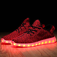 Women's LED Shoes USB charging Synthetic Fashion Sneakers Athletic/Casual Black/Green/Red/Gray