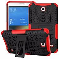 Για Samsung Galaxy Θήκη Θήκες Καλύμματα Ανθεκτική σε πτώσεις με βάση στήριξης Πίσω Κάλυμμα tok Πανοπλία PC για SamsungTab 4 7.0 Tab S2