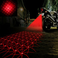 Laser Tail light Refitting Accessories for Motorcycle Automobile Caution Light Fog Light