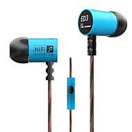 3.5mm kiinteä kuulokkeet (korvan) ja mediasoitin / tabletti | matkapuhelin | tietokone ei mikrofonia