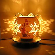 2016 nye keramiske steg induktion aromaterapi lampe førte nat lys for børneværelse boligmontering