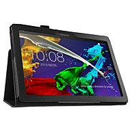 "PU Cover Case for Lenovo Tab 2 A10-30 10.1"" Tablet with Screen Protector"