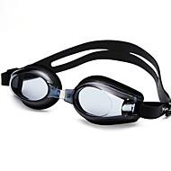 YUKE Swimming Goggles Women's / Men's / Unisex Anti-Fog / Waterproof / Adjustable Size / Anti-UV Silica Gel PC Black / Blue Transparent