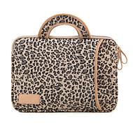 leopárd gabona védőtok laptop táskából, MacBook Air MacBook Pro 13,3 13,3 / 15,4