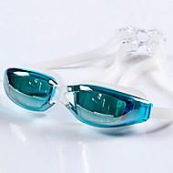 YUKE®Anti-Fog,Adjustable Size,Waterproof,Anti-UV for Unisex Silica Gel(Frames) PC(Lens) Swimming Goggles