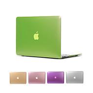 "matte metaal kleur full body case cover voor de MacBook Air 11 ""pro 13"" / 15 """