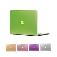 "macbook air 11 ""pro 13"" / 15 için mat metal renk tam vücut kasayı """