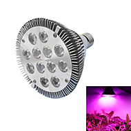 12W E26/E27 LED Grow Lights PAR30 12 High Power LED lm Red / Blue AC 85-265 V 1 pcs