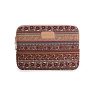 17 Inch Apricot Color Bohemian Computer Bag Notebook Sleeve Case For  MacBook/Dell/HP/Acer/Asus/Samsung,Etc