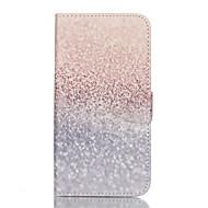 For Samsung Galaxy S7 Edge Pung Kortholder Med stativ Flip Etui Heldækkende Etui Glitterskin Kunstlæder for Samsung S7 plus S7 edge S7