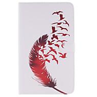 Mert Samsung Galaxy tok Kártyatartó / Pénztárca / Állvánnyal / Flip / Minta Case Teljes védelem Case Toll Műbőr SamsungTab 4 10.1 / Tab 4