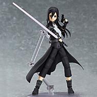 Anime Actionfigurer Inspireret af Sword Art Online Kirito PVC 15 CM Model Legetøj Dukke Legetøj