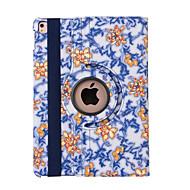 caso de la cubierta del tirón de 360 grados porcelana azul y blanca de la PU de cuero para Mini iPad 1/2/3 (colores surtidos)