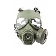 airsoft système de ventilateur turbo anti-buée pleine protecteur facial masque wargame paintball