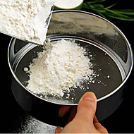 15ccm rozsdamentes acél liszt szitán w / rozsdamentes acélháló