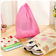 Printing Thick Non-woven Shoe Pouch Random Color