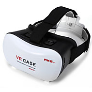 2016 VR BOX Google Cardboard 3D Movie VR Case Head Mount Plastic VR BOX Version Virtual Reality Glasses for Smart Phone