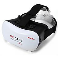 2016 vr doos google karton 3d film vr geval het hoofd te monteren plastic vr box versie virtual reality bril voor smartphone