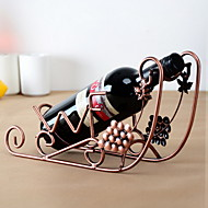 drue skibsdesign vintage rent jern vin rack