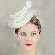 δαντέλα λουλούδι πέπλο μέτωπο τα μαλλιά γοητευτής κοσμήματα καπέλο γυναικών για το κόμμα του γάμου