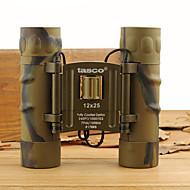 Tasco 12X 25 mm Binóculos # Genérico 80M/1000M # Foco Independente Revestimento Completo Uso Genérico Normal Others