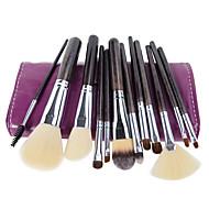 12 Brush Lavastus Sivellin nylonista / Synteettinen tukka / HevonenAmmattilaisten / Matkailu / Täysi kattavuus / Ympäristöystävällinen /