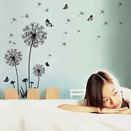 Romantik / Mode / Blumen / Landschaft Wand-Sticker Flugzeug-Wand Sticker,pvc 60*90cm