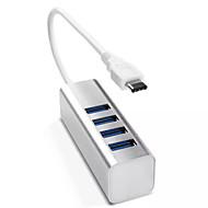 iHub-02c 4-port usb 3.1 volta 4 USB3.0 (cores sortidas)