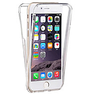 iPhone 7 Plus 6s 6 Plus SE 5s 5 Front+Back Soft TPU Transparent 360 Degree Full Touch Screen Cover Case
