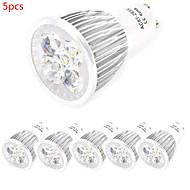 Spot LED Décorative Blanc Chaud / Blanc Froid HRY 5 pièces MR16 GU10 / E26/E27 10W 5 LED Haute Puissance 800 lm AC 85-265 V