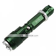 U`King® LED Taschenlampen LED 1200lm Lumen 5 Modus Cree XM-L2 18650 / AAA einstellbarer Fokus / rutschfester Griff / Notwehr / Zoomable-