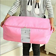 Oxford Bumian Have Been Transparent Window Pouch,Large,Assorted Color