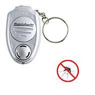 1st portabel nyckelring nyckel clip elektronisk ultraljuds repeller för skadedjur mygga insekt