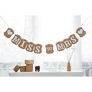 Kartonpapír Esküvői dekoráció-1db / Set Tavasz Nyár Ősz Tél Nem személyesíthető
