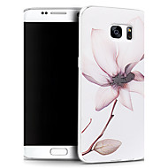 3d relevo gráfico padrão da moda silicone tampa traseira material para Samsung Galaxy S7 borda